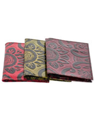 leather embossed Passport cover trio_2
