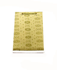 Sage Silk notepad_back