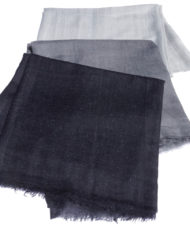 Heathered cashmere scarves 2