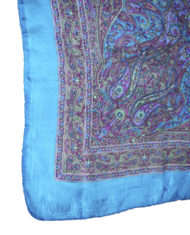 silk-scarf-Aegean Plum Paisley Scarf_6